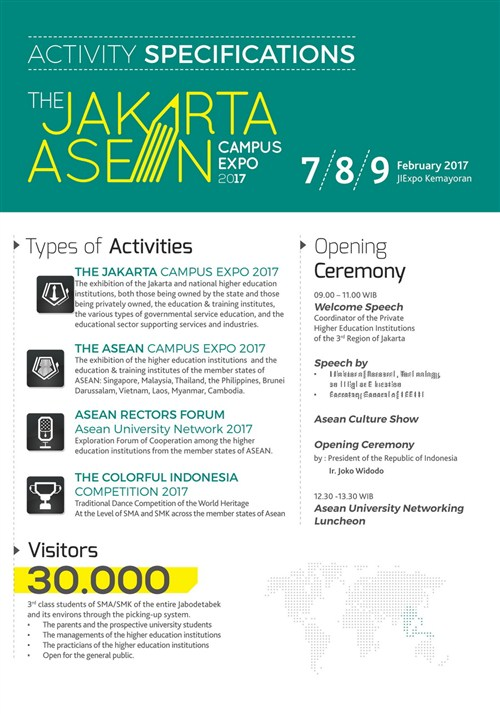 The Jakarta ASEAN Campus Expo 2017