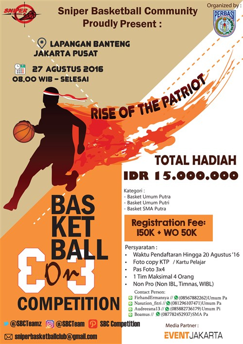 Rise of the Patriot, Basketball 3 On 3 Competition