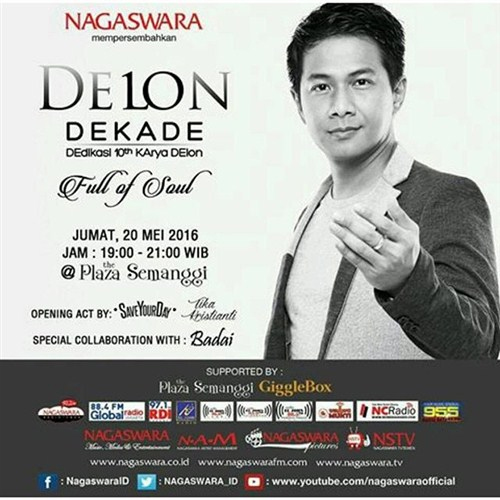 "DELON Dekade, Dedikasi 10th Karya DElon ""Full of Soul"""