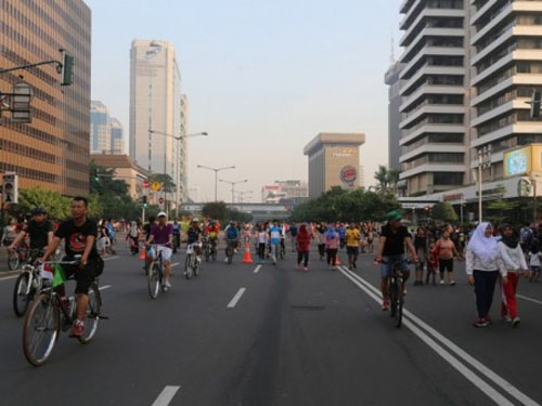 Car Free Day Will Start Again This Sunday