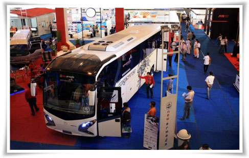 The 7th Indonesia International Bus, Truck & Heavy Duty Vehicle & Equipment Exhibition 2016