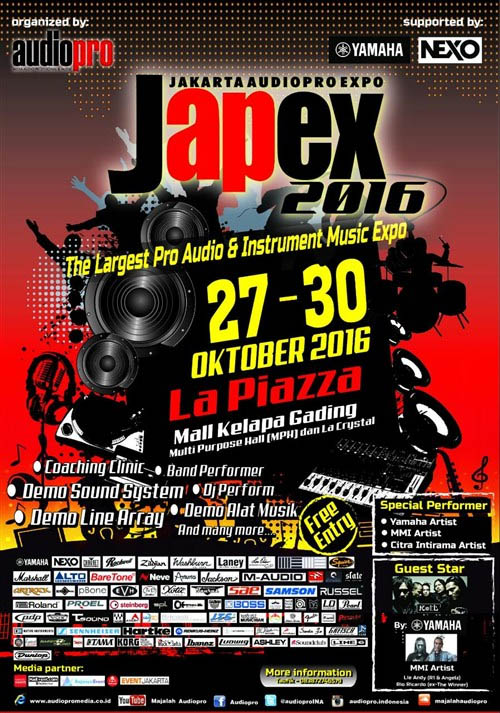 The Largest Pro Audio & Instrument Music Expo