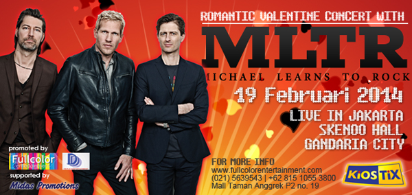 Michael Learns To Rock Romantic Valentine Concert