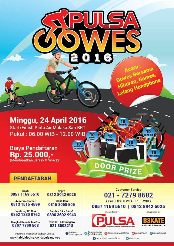 Pulsa Gowes 2016