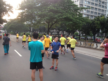 Car Free Days Remains Excited During Long Holiday
