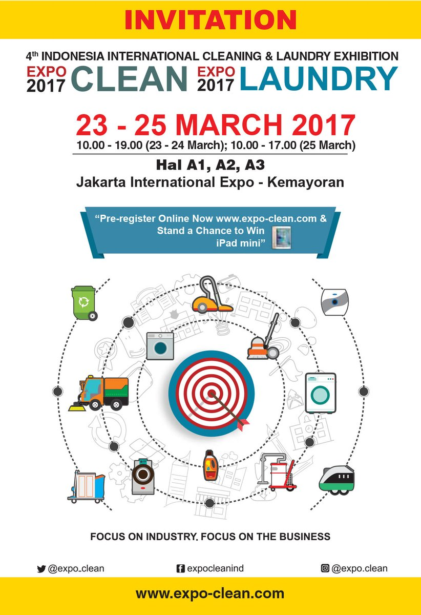4th Indonesia International Cleaning and Laundry Exhibition