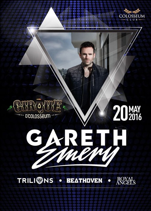 Cirque Dcolosseum with GARETH EMERY