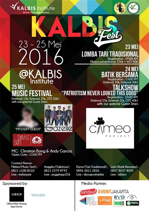 """KALBIS FEST 2016 """"Patriotism Never Looked This Good"""""""