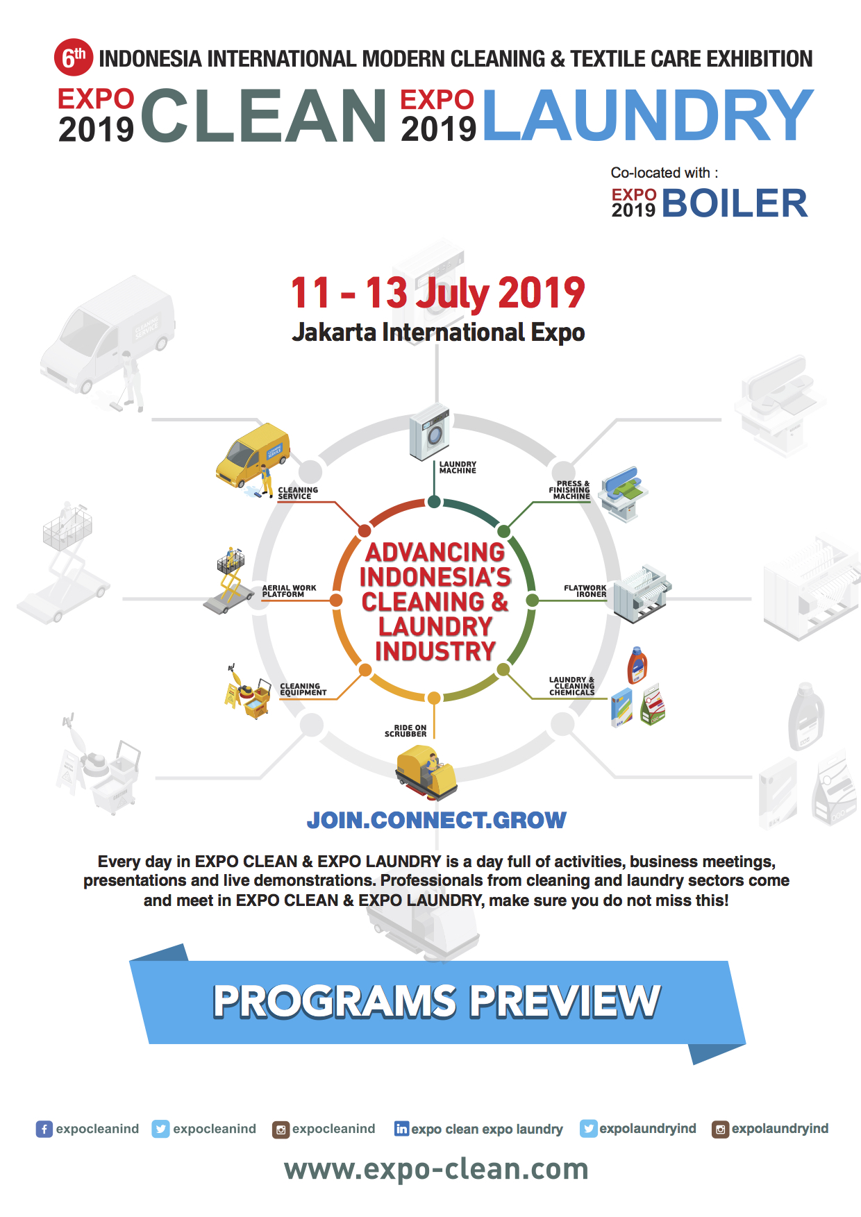 Clean & Laundry Expo 2019