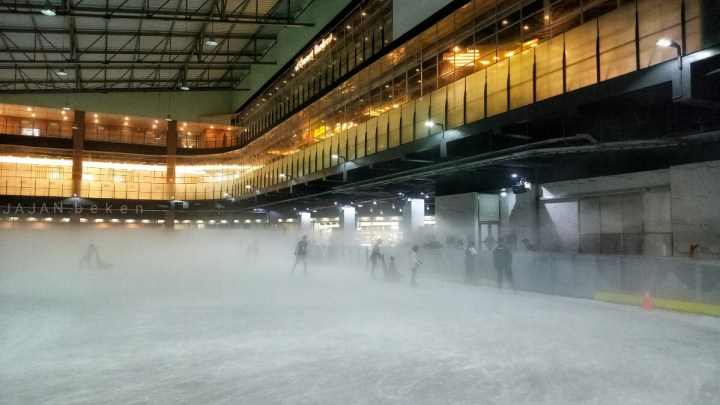 Ice Skating di AEON JGC