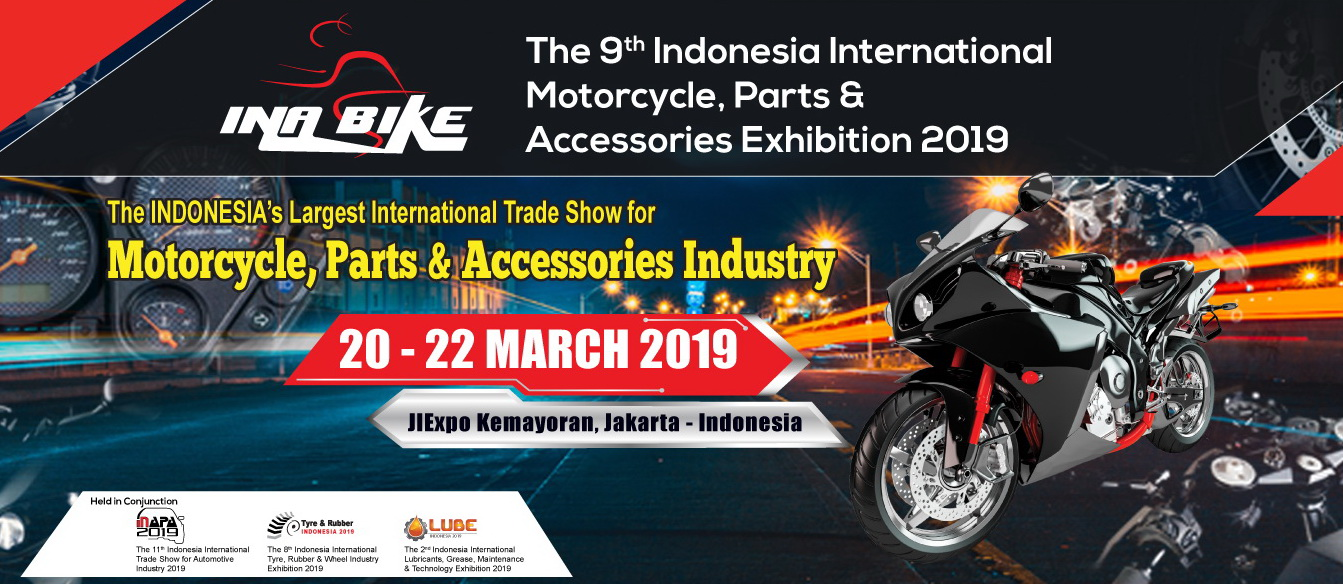 INABIKE (Indonesia International Motorcycle, Parts & Accessories Exhibition) 2019
