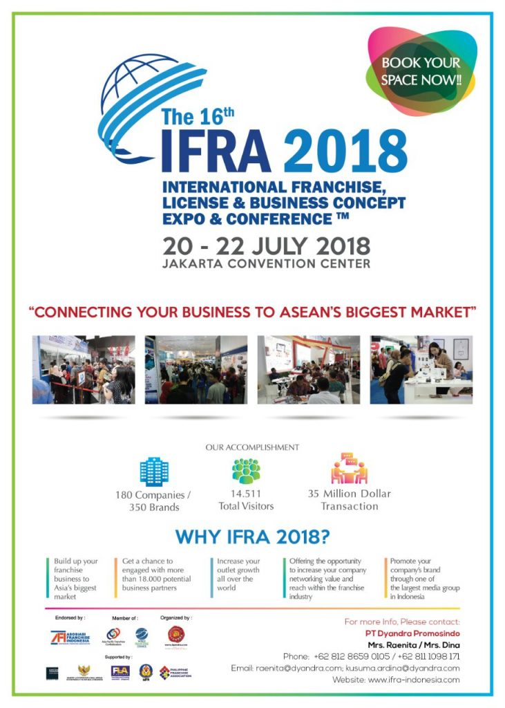 International Franchise, License & Business Concept Expo & Conference (IFRA) 2018