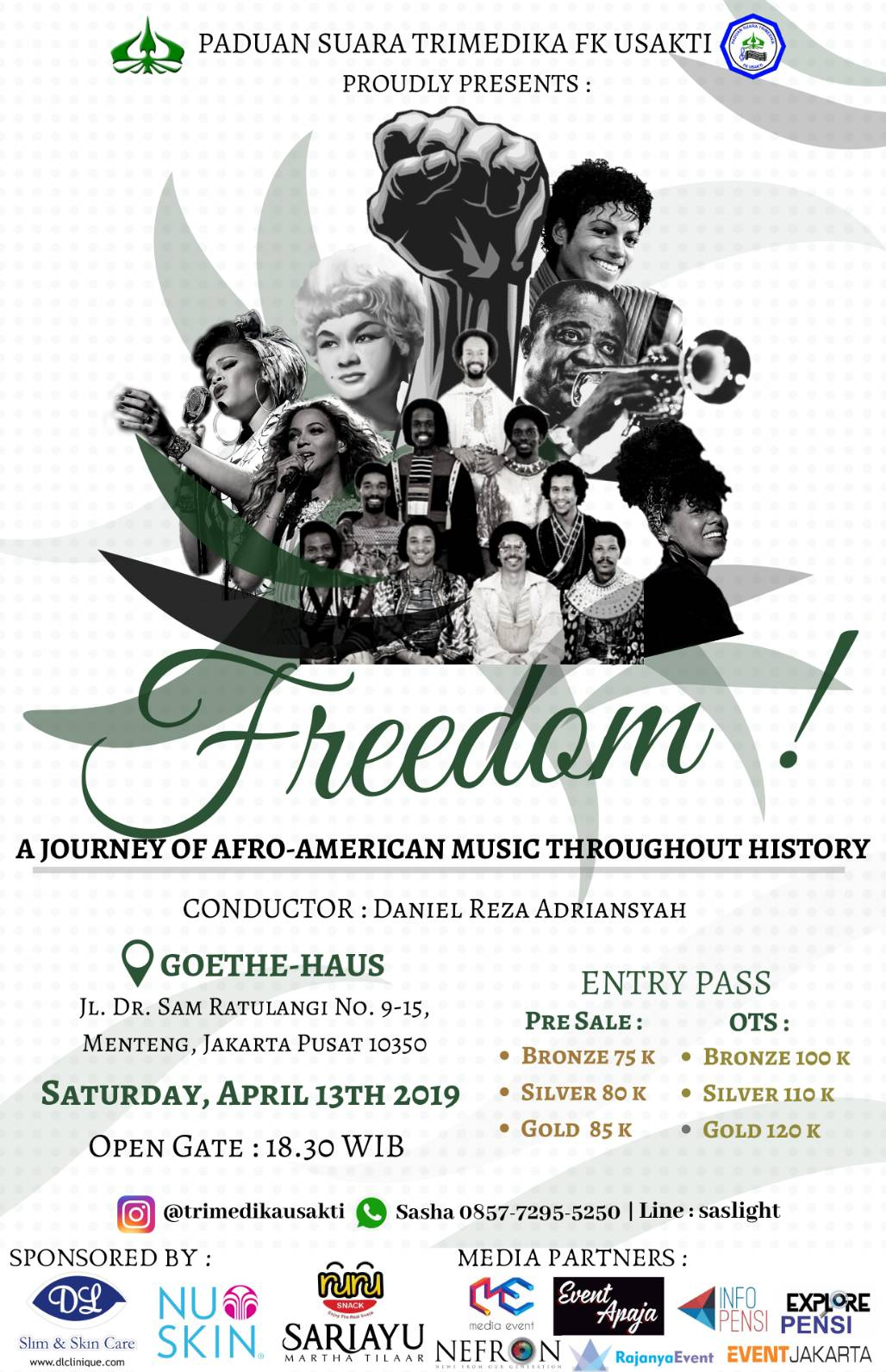 "Freedom ""A Journey Of Afro-American Music Throughout History"""