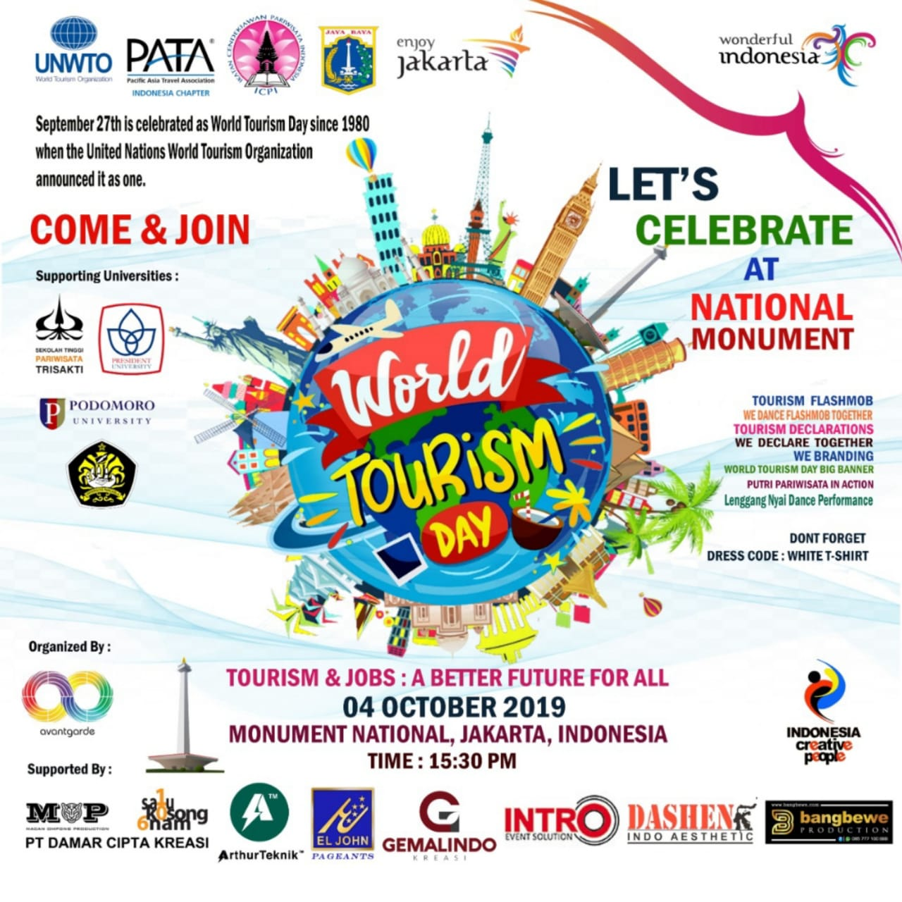 The 2019 World Tourism Day.