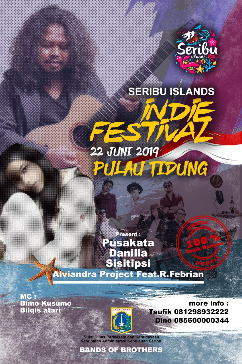 INDIE FESTIVAL  TIDUNG ISLAND